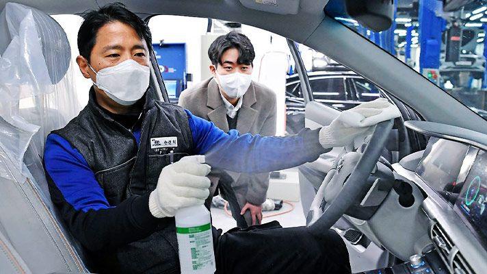 Mua ô tô mùa dịch Covid-19 - Trải nghiệm sự sạch tinh - 2