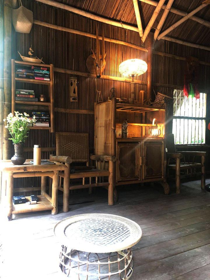 Ngôi nhà độc đáo làm bằng tre và dừa ở Hội An - 9