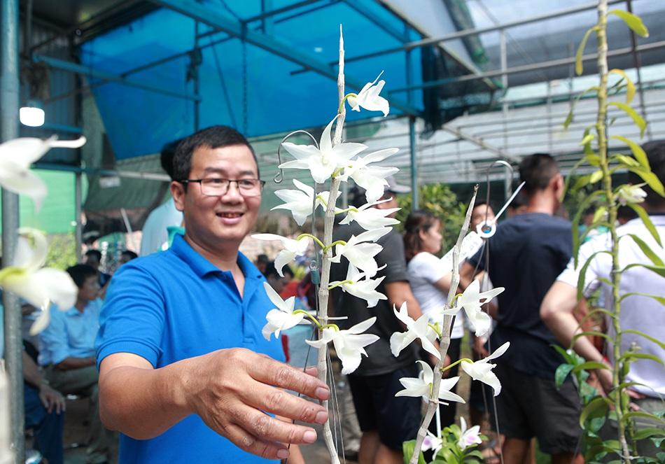 Chiêm ngưỡng những giỏ hoa lan đột biến hiếm có giá hàng trăm triệu - 3