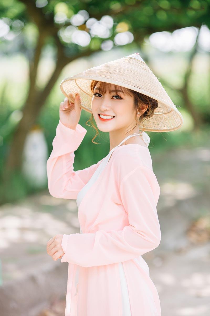 Nét duyên thầm của thiếu nữ quê quan họ Bắc Ninh trong bộ áo yếm - 8