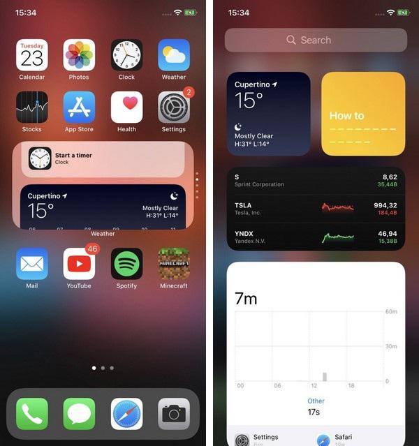 """Những tính năng iOS 14 """"vay mượn"""" từ Android - 1"""
