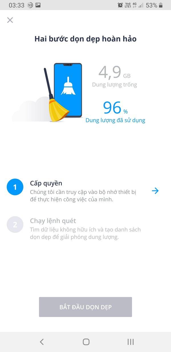 Ứng dụng dọn dẹp file rác giúp tiết kiệm dung lượng lưu trữ trên smartphone - 3