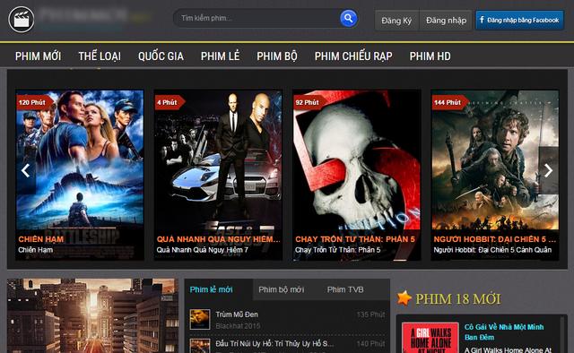 Thêm một trang web phim lậu lớn ở Việt Nam bị ngừng hoạt động - 4
