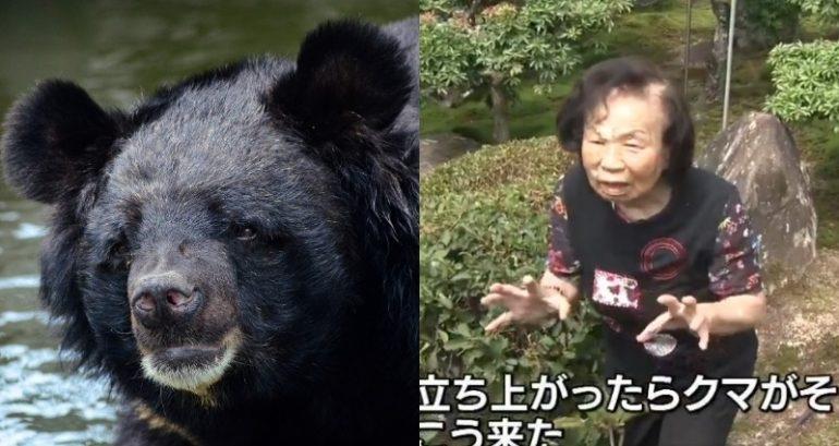 Cụ bà 82 tuổi tay không đánh thắng gấu ở vườn nhà - 1