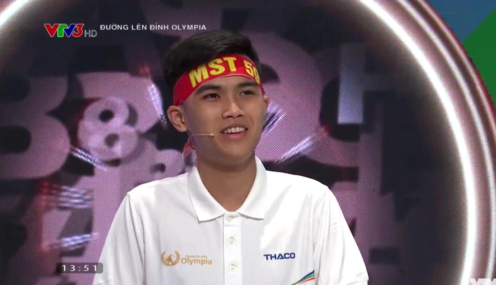 Nam sinh Hà Nội chạm mốc điểm kỷ lục Đường lên đỉnh Olympia - 2