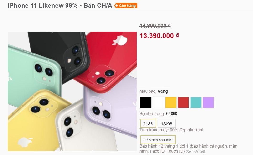 iPhone 11 xách tay Trung Quốc đổ bộ về Việt Nam, giá hơn 13 triệu đồng - 1