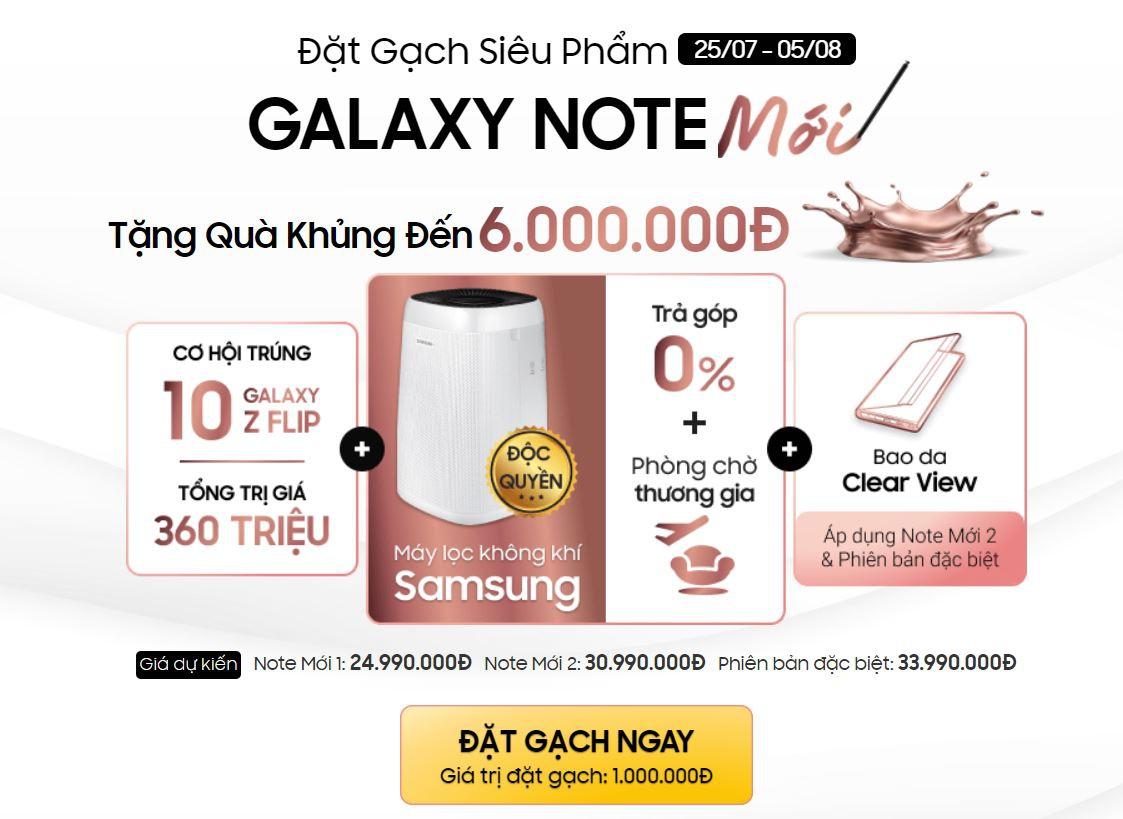 Chưa bán ra, Galaxy Note20 đã loạn giá tại Việt Nam - 1