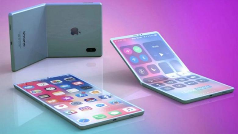 iPhone màn hình gập có thiết kế giống iPad, trang bị vân tay dưới màn hình? - 1