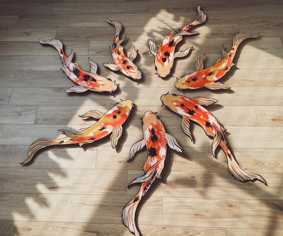 Nữ 9x bỏ việc về quê nuôi cá gỗ, từ ý tưởng điên rồ mang về cả nghìn đô - 3