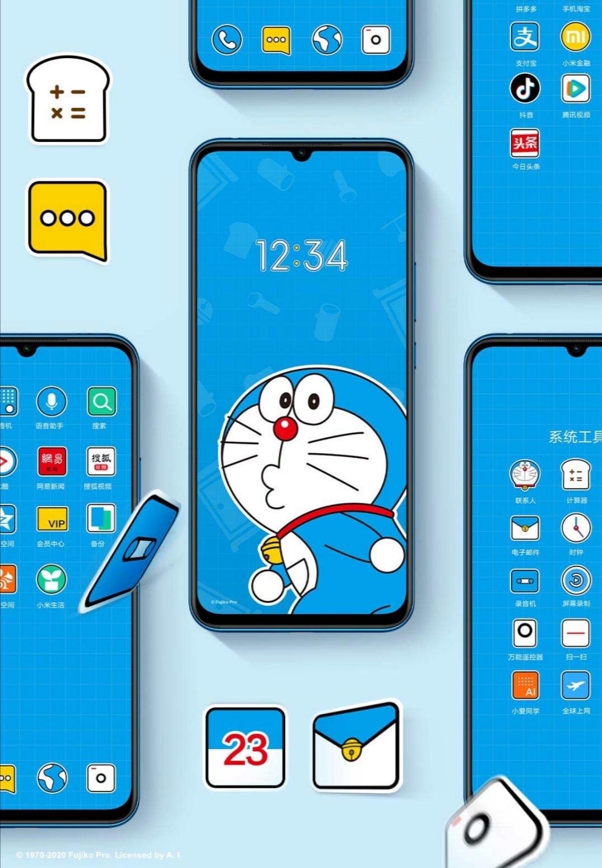 Xiaomi ra mắt chiếc smartphone đặc biệt kỷ niệm 50 năm chú mèo máy Doraemon - 2