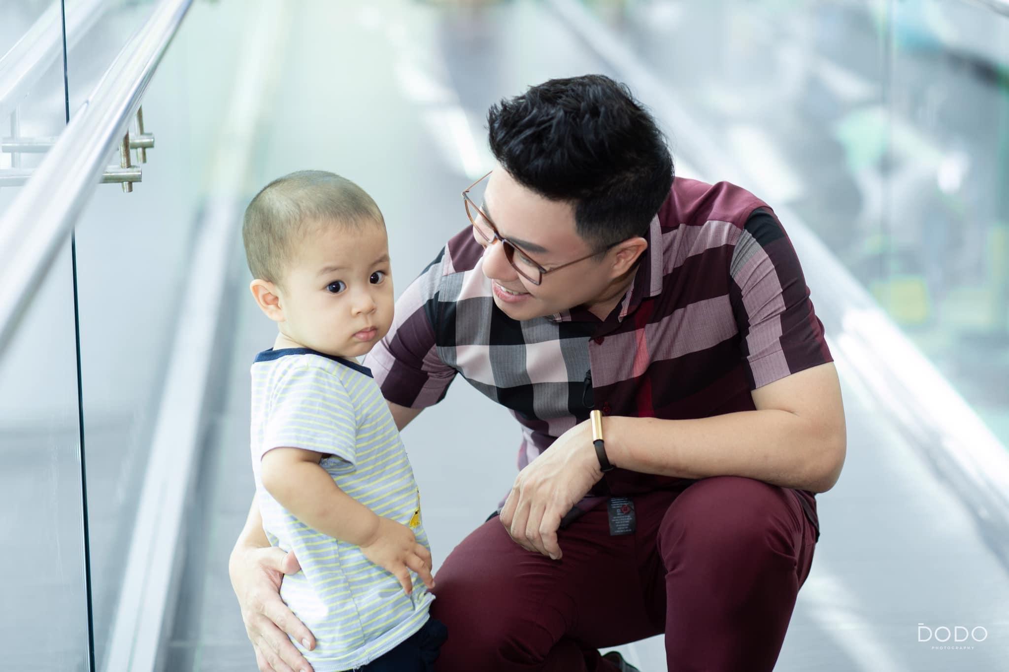"""MC Lê Anh: """"Nếu chọn làm bố đơn thân, tôi không cần ai chia sẻ với mình"""" - 1"""