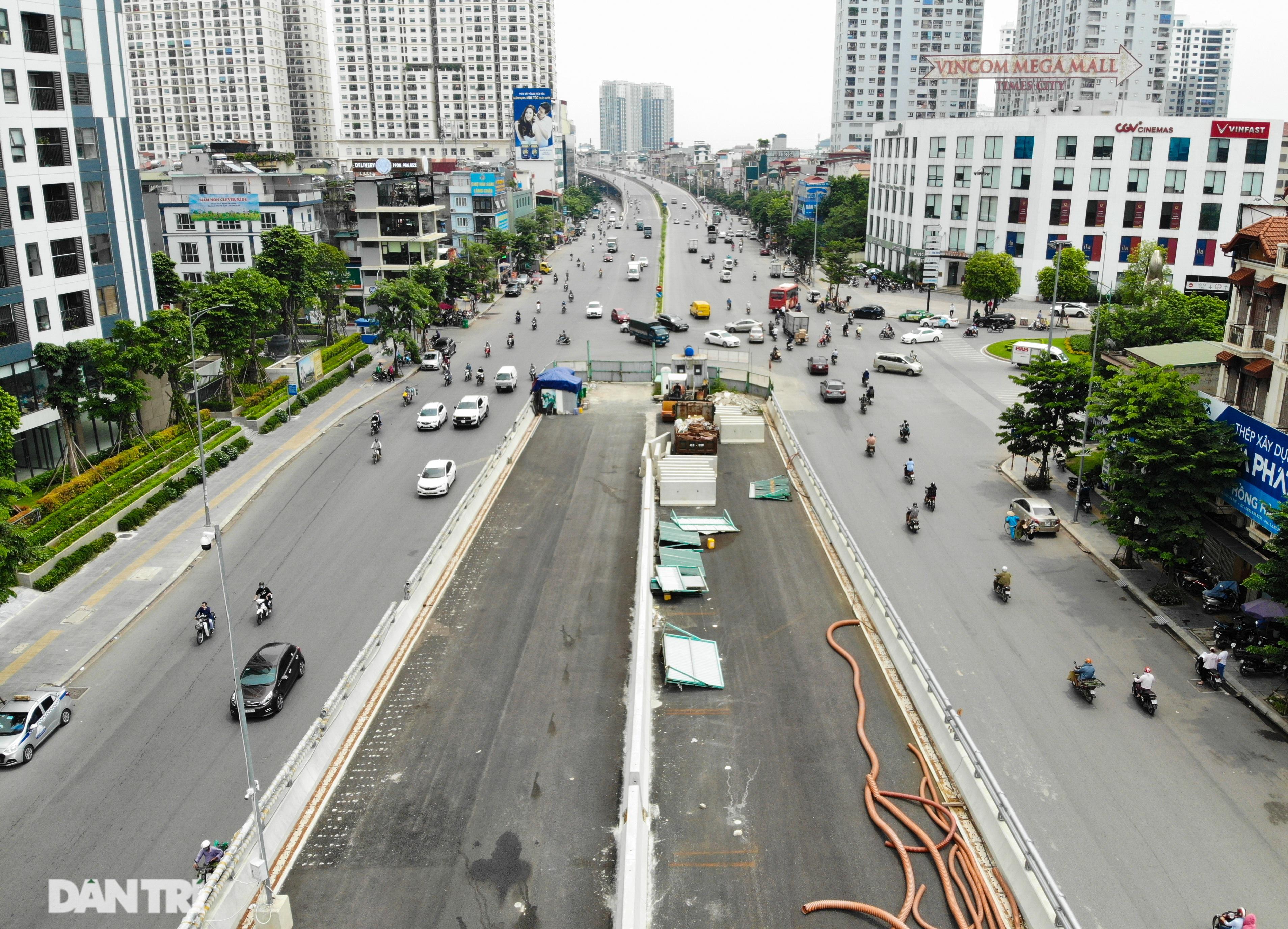 Hà Nội: Toàn cảnh công trường đường vành đai 2 đoạn Minh Khai – Đại La - 5
