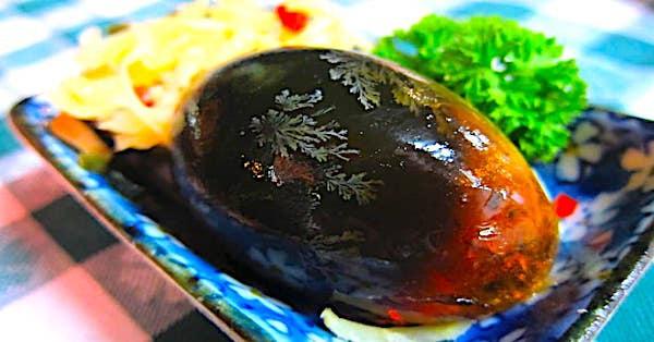 Món trứng thế kỷ 1.000 năm ở Trung Quốc - 2
