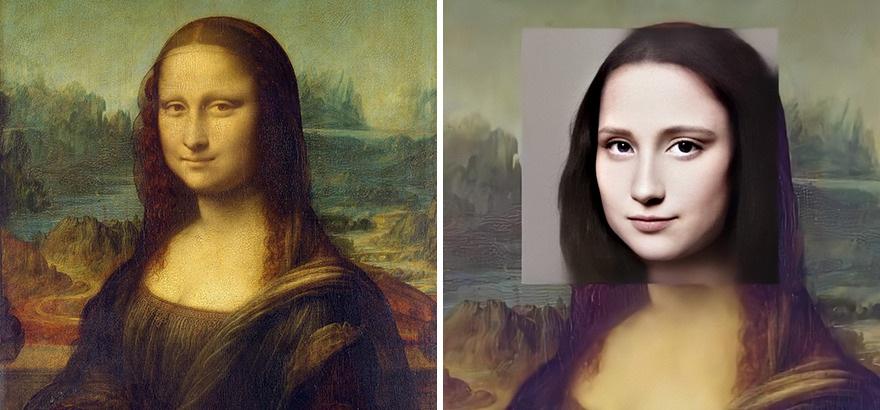 """Nghệ sĩ đồ họa sử dụng AI để biến """"nàng Mona Lisa"""" thành người thật - 1"""