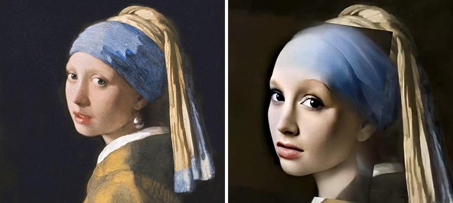 """Nghệ sĩ đồ họa sử dụng AI để biến """"nàng Mona Lisa"""" thành người thật - 2"""