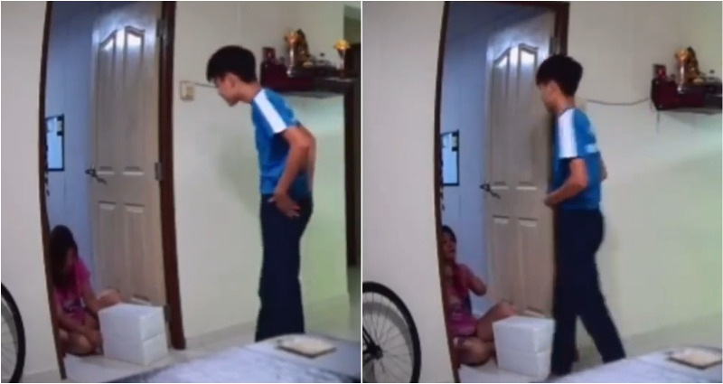 Thiếu niên đăng video đánh mẹ lên TikTok, khiến dân mạng phẫn nộ - 1