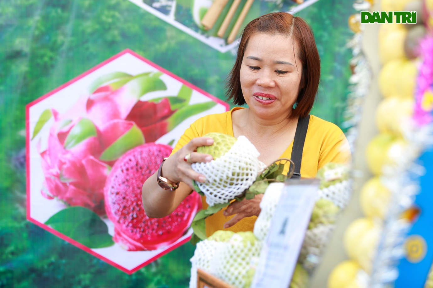 Đặc sản na khổng lồ Lạng Sơn hút khách ở Hà Nội - 7