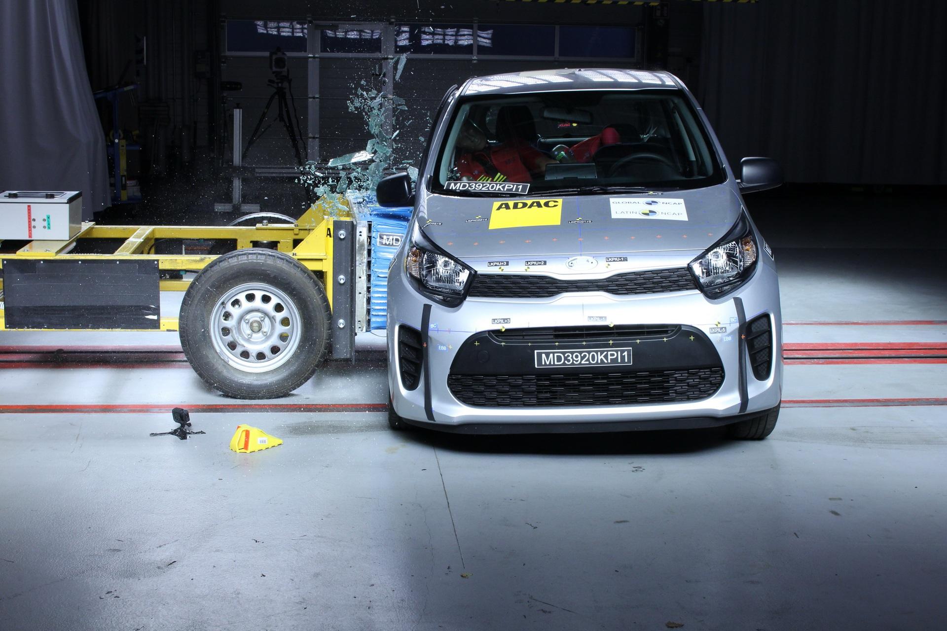 Kia Picanto / Morning dính điểm liệt về an toàn vì một lý do đơn giản - 2
