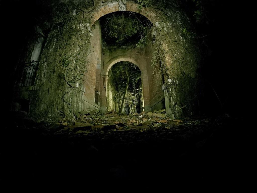 """Ớn lạnh khám phá đảo """"ma ám"""" bị bỏ hoang hàng thập kỷ ở Italia - 2"""