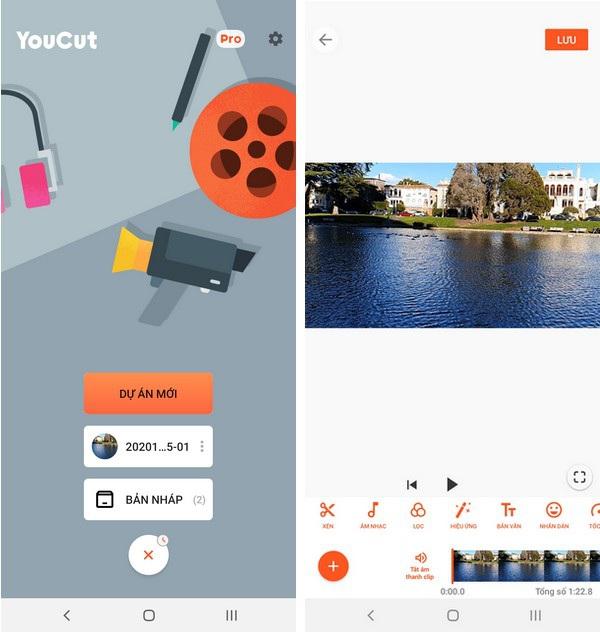 Những công cụ xử lý và tạo hiệu ứng video nên có trên smartphone - 1