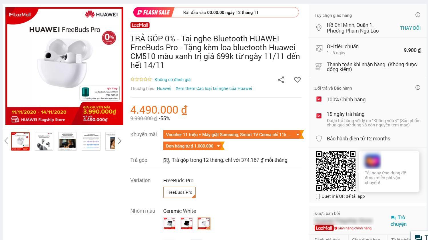 iPhone, tai nghe giảm giá hơn 10 triệu đồng là trò lừa đảo ngày sale 11/11 - 2