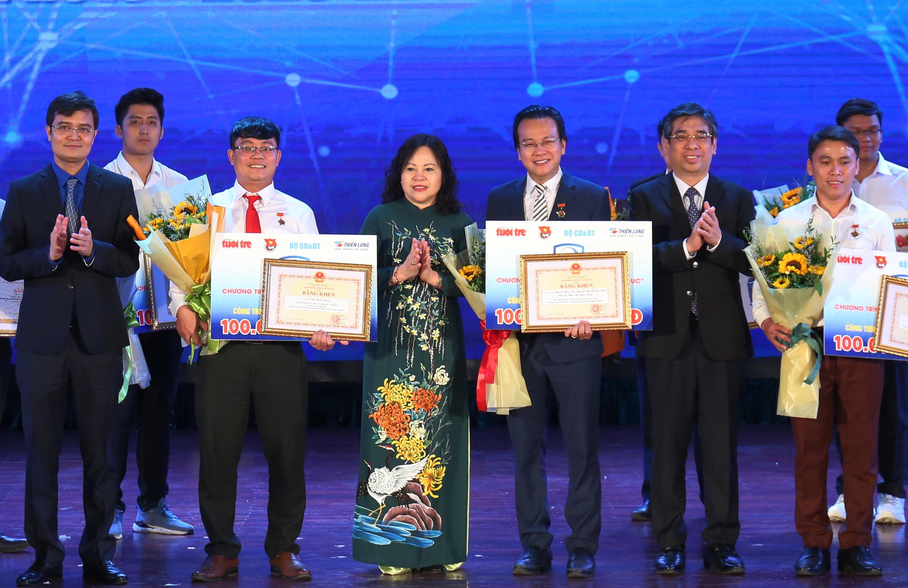 3 sáng kiến giáo dục giành giải thưởng 100 triệu đồng - 1