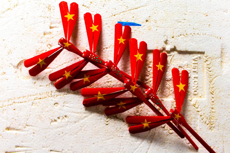 Làng sản xuất hàng triệu con chuồn chuồn tre độc nhất vô nhị ở Hà Nội - 4