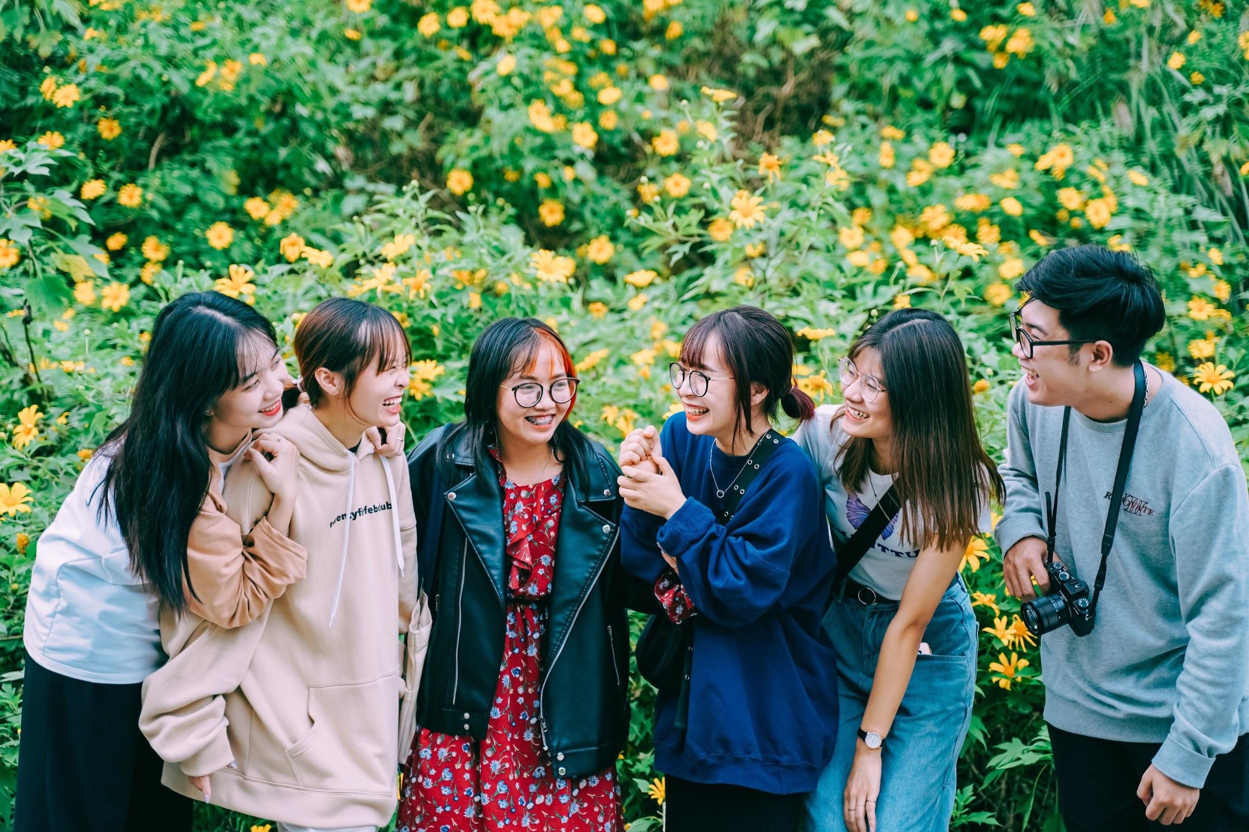 Giới trẻ nô nức check-in, khoe ảnh bên sắc hoa dã quỳ - 1