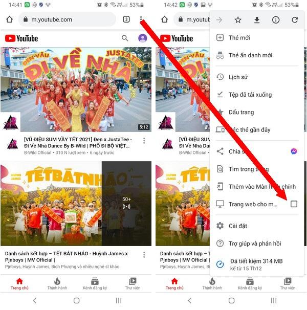 Mẹo hay giúp nghe nhạc trên Youtube ngay cả khi tắt màn hình smartphone - 1