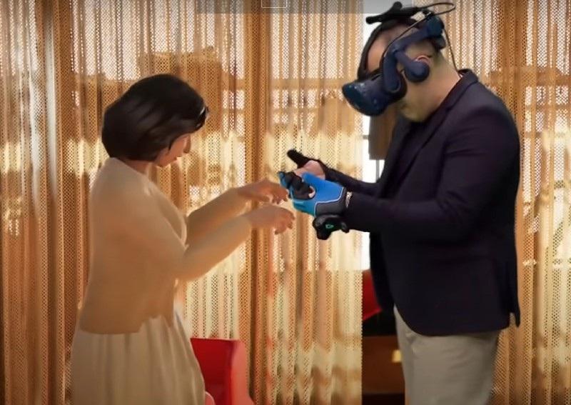 Rơi nước mắt khoảnh khắc chồng gặp lại vợ đã mất nhờ công nghệ thực tế ảo - 2