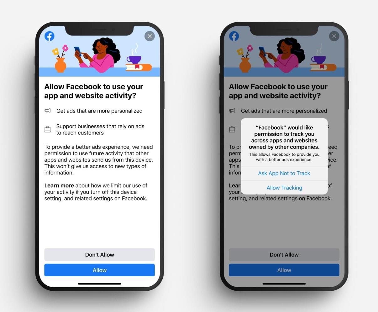 Facebook năn nỉ người dùng iOS cho phép lấy dữ liệu để quảng cáo - 1