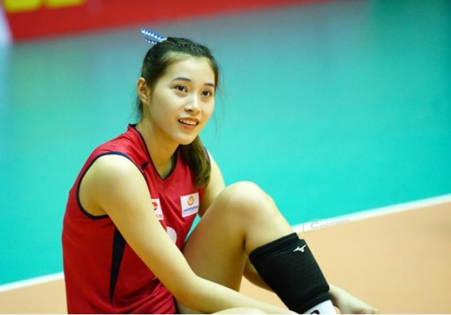 Hoa khôi bóng chuyền Đặng Thu Huyền bất ngờ giải nghệ ở tuổi 19 - 1