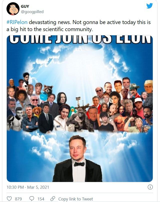 Thông tin Elon Musk qua đời trong một vụ nổ gây hoang mang mạng xã hội - 3