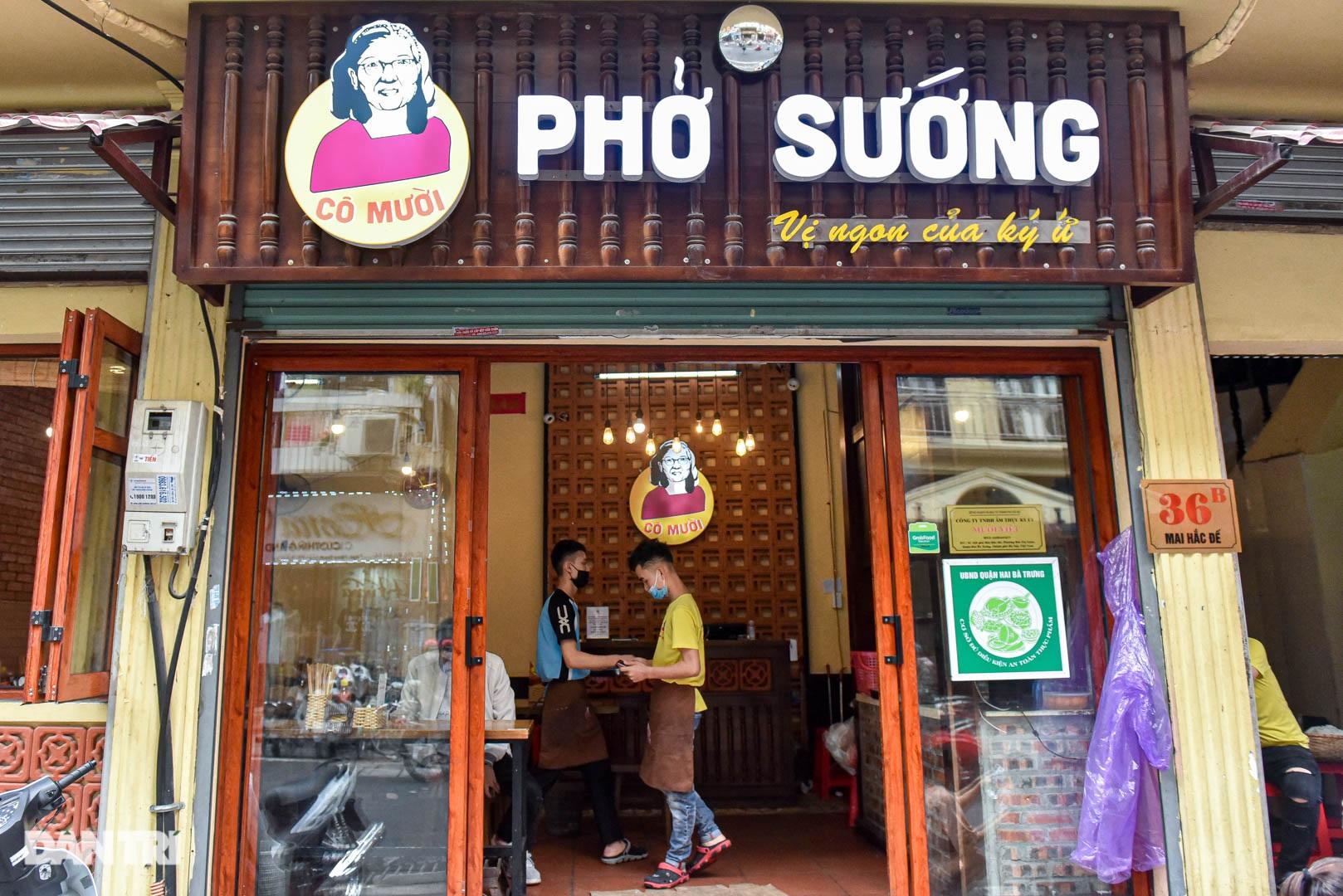 5 quán phở hút khách bậc nhất Hà Nội: Đã ngon, tên còn cực độc - 4