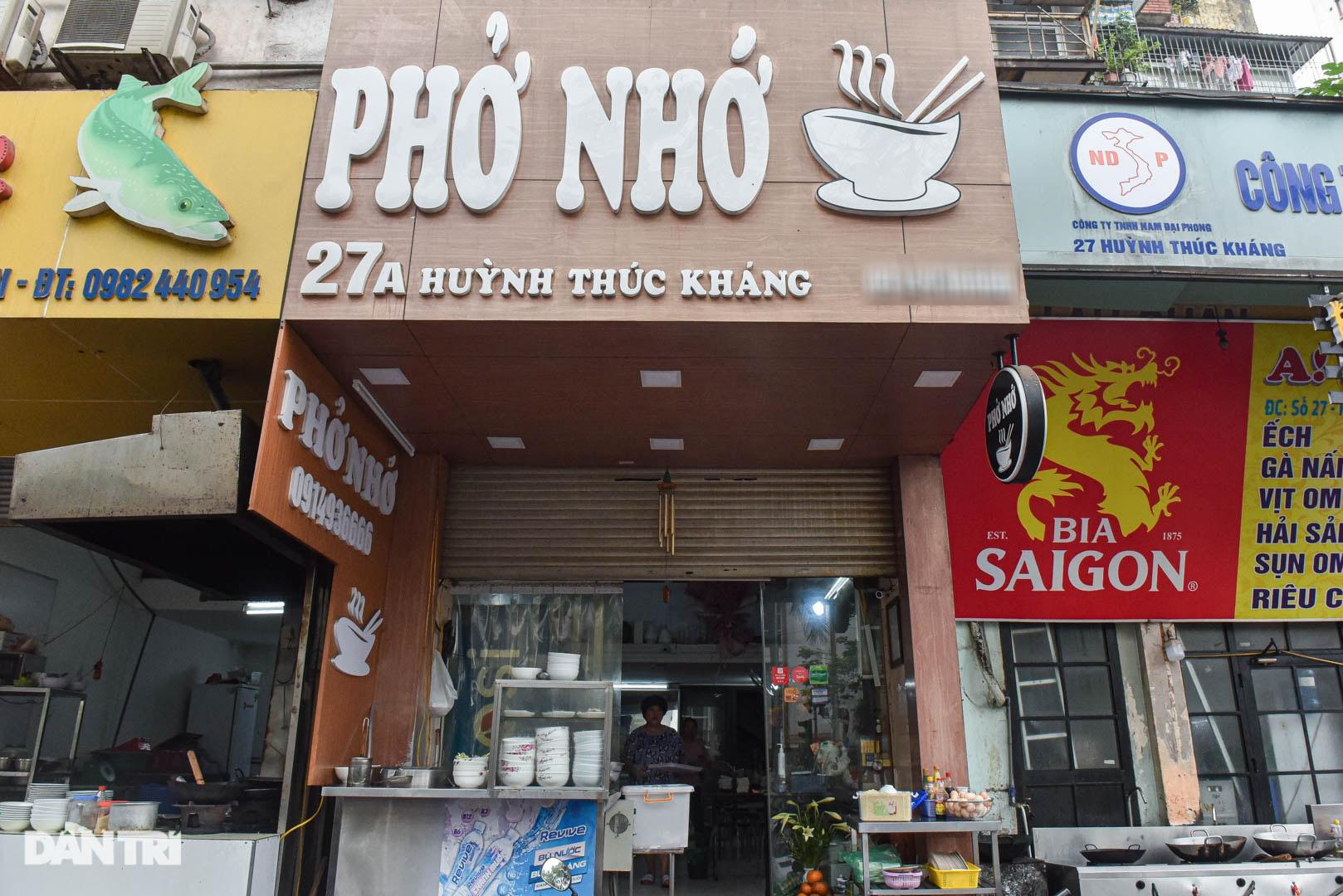5 quán phở hút khách bậc nhất Hà Nội: Đã ngon, tên còn cực độc - 2