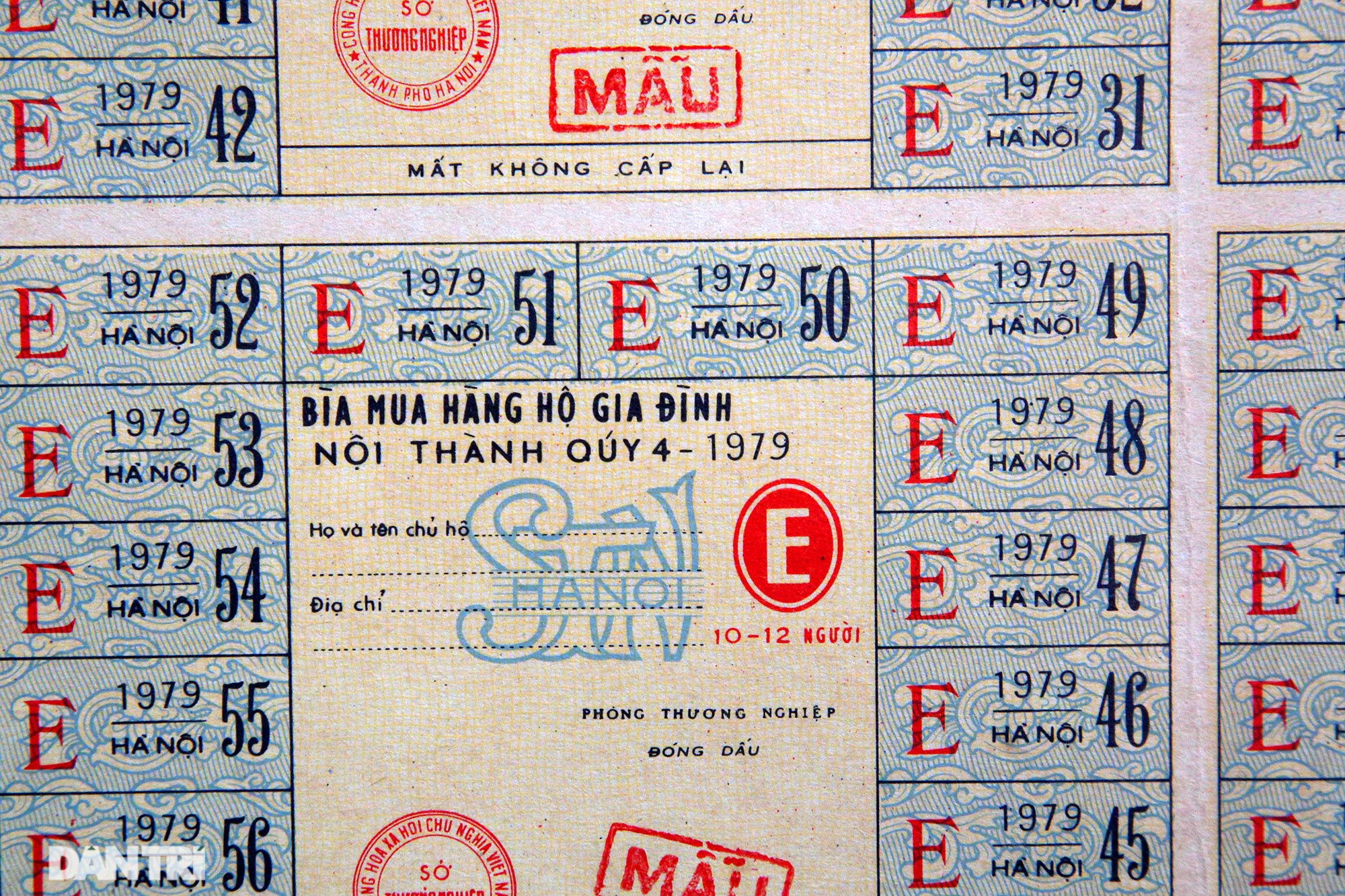Ký ức gian khó qua bộ sưu tập tem phiếu, sổ gạo thời bao cấp - 13