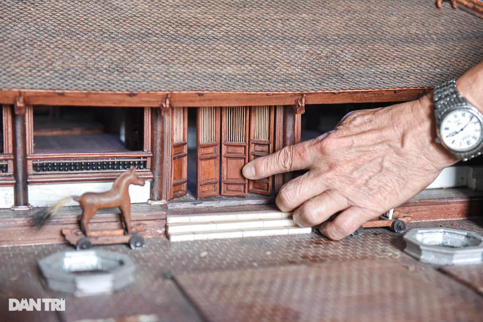 Đình làng từ gỗ gụ nhỏ nhất Việt Nam, giá nào cũng không bán - 5