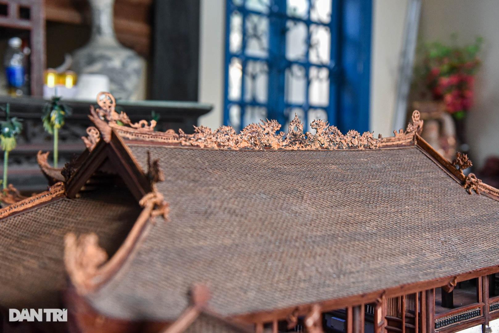 Đình làng từ gỗ gụ nhỏ nhất Việt Nam, giá nào cũng không bán - 7