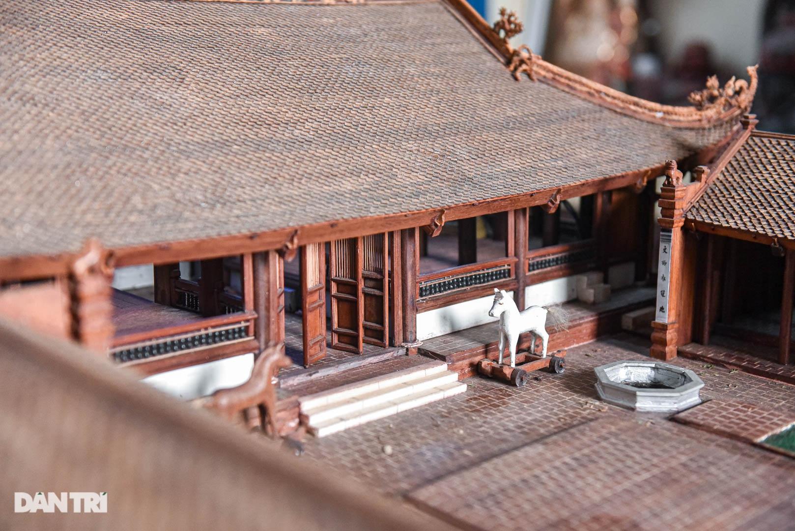 Đình làng từ gỗ gụ nhỏ nhất Việt Nam, giá nào cũng không bán - 8