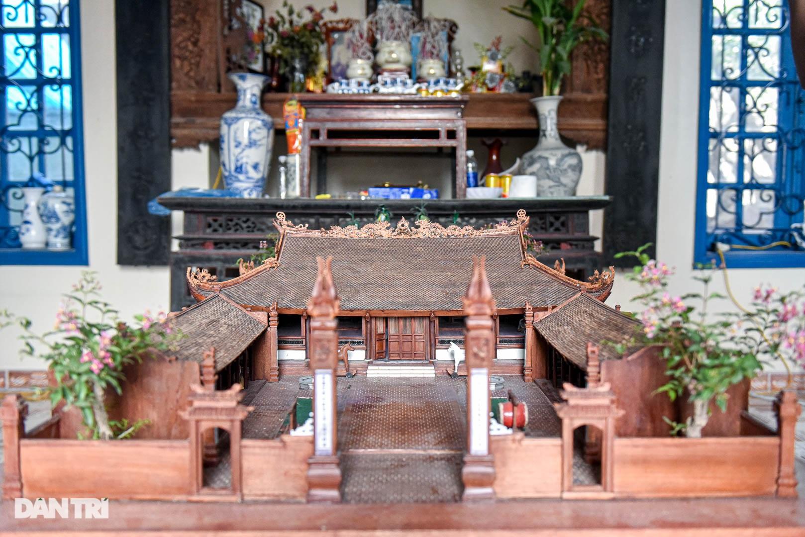 Đình làng từ gỗ gụ nhỏ nhất Việt Nam, giá nào cũng không bán - 3