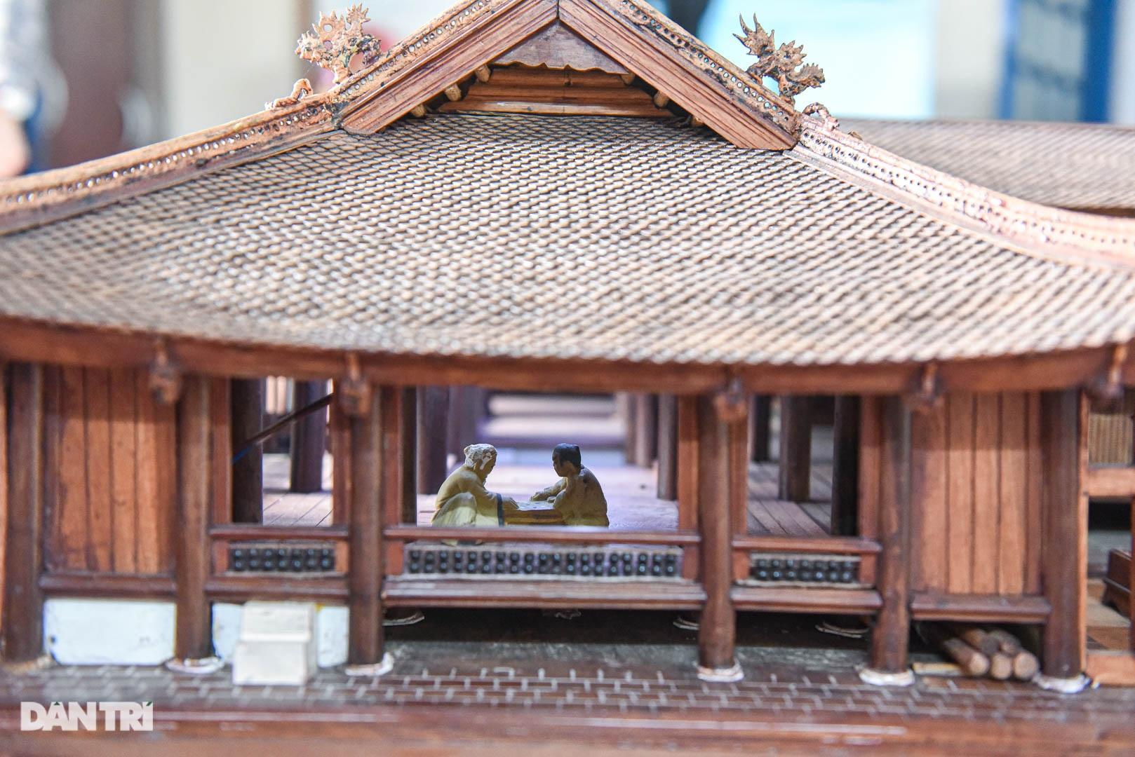 Đình làng từ gỗ gụ nhỏ nhất Việt Nam, giá nào cũng không bán - 10