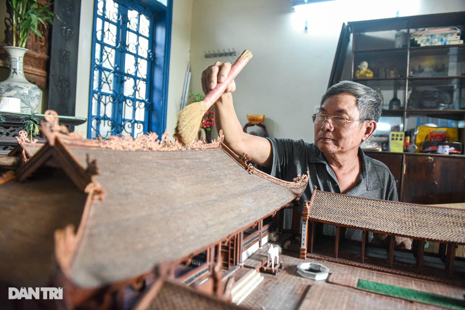 Đình làng từ gỗ gụ nhỏ nhất Việt Nam, giá nào cũng không bán - 12