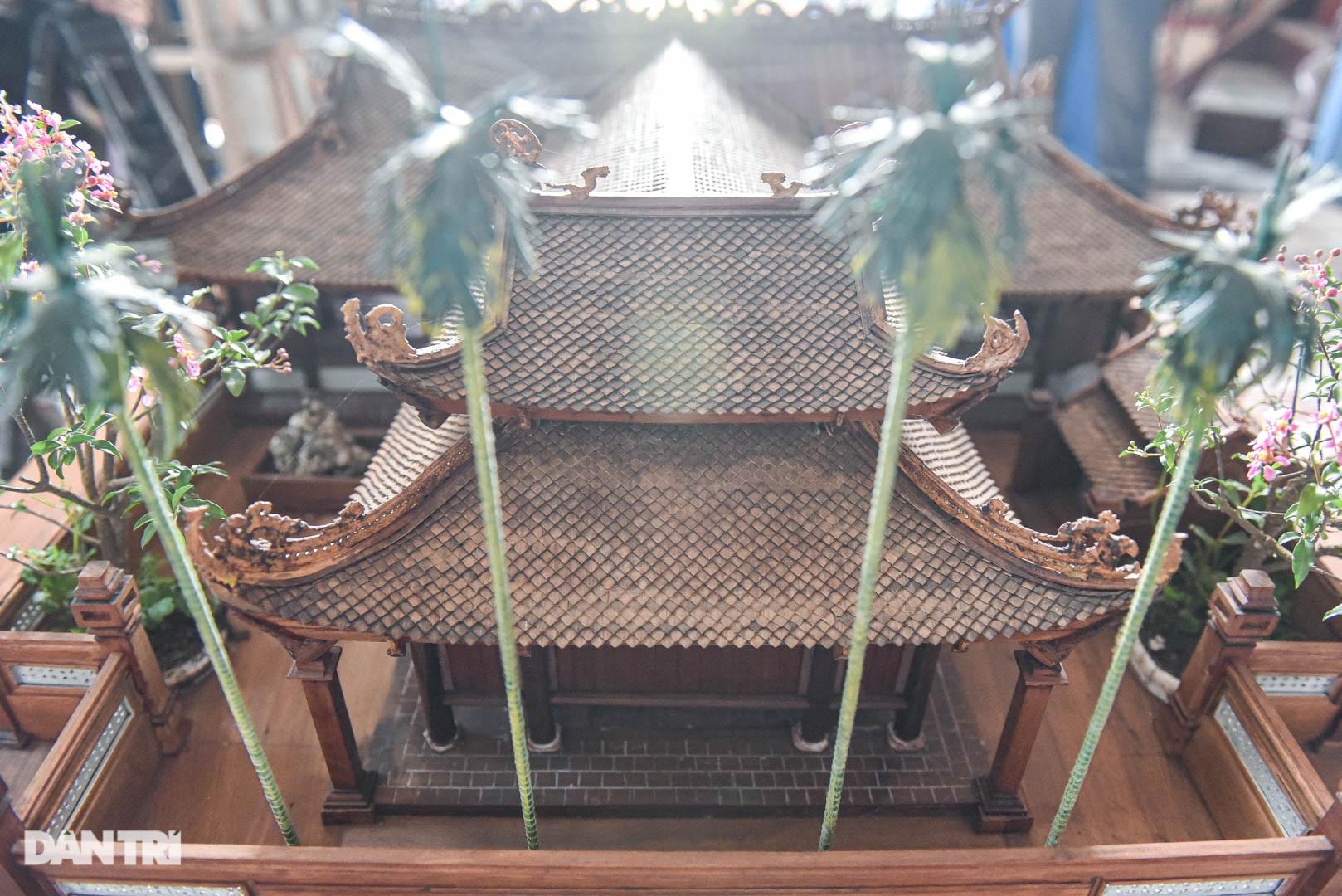 Đình làng từ gỗ gụ nhỏ nhất Việt Nam, giá nào cũng không bán - 9
