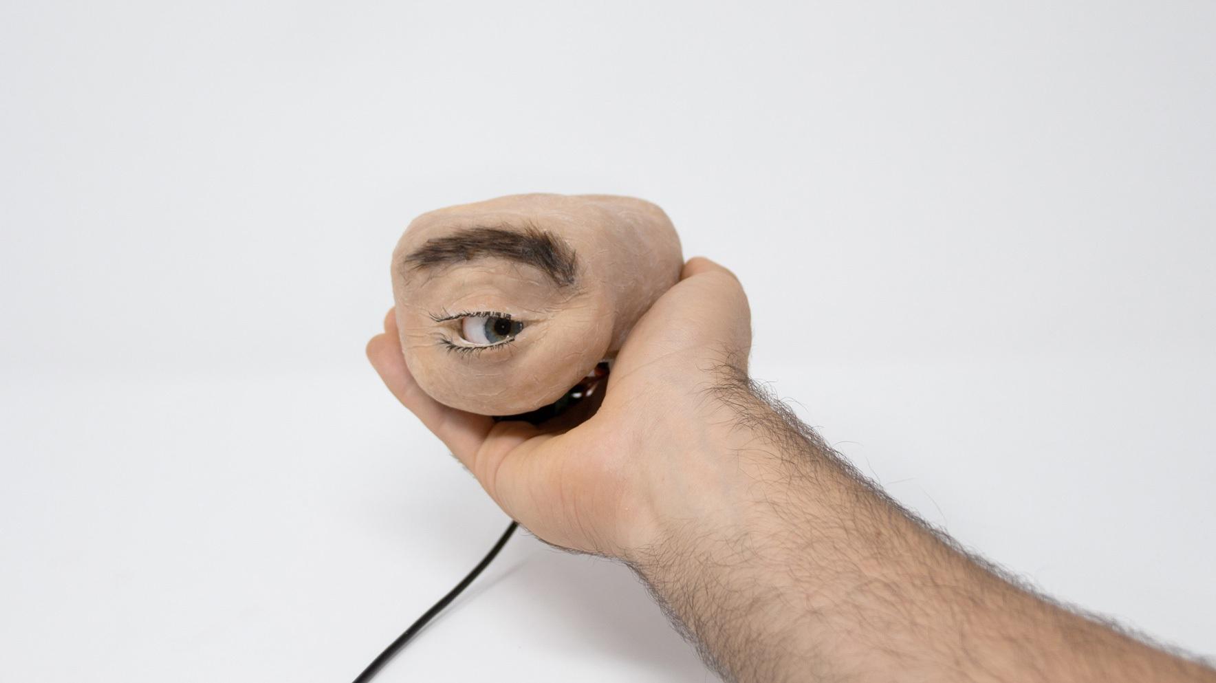 Chiếc webcam kì dị có thiết kế giống mắt người, biết chớp mắt, liếc nhìn - 3