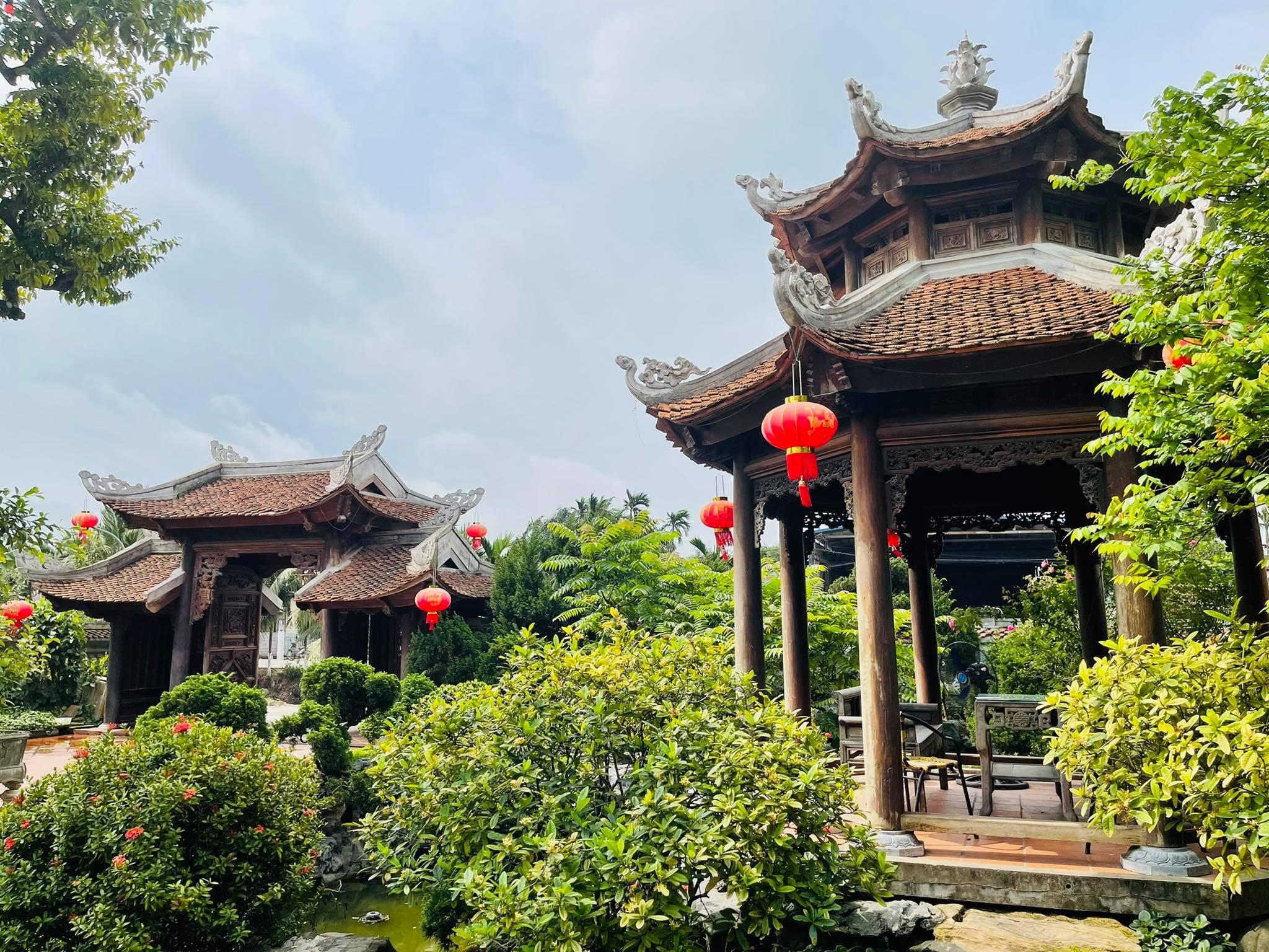 Biệt phủ 1.700m2 toàn cây cảnh bạc tỷ của gia đình ở Nam Định - 6