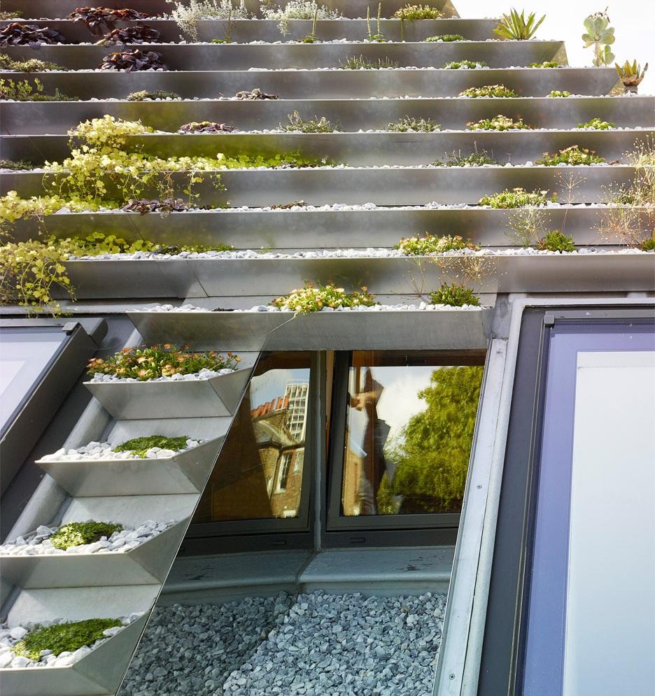 Vườn lạ như kim tự tháp có 800 cây trên mái nhà giữa phố thị đông đúc - 5