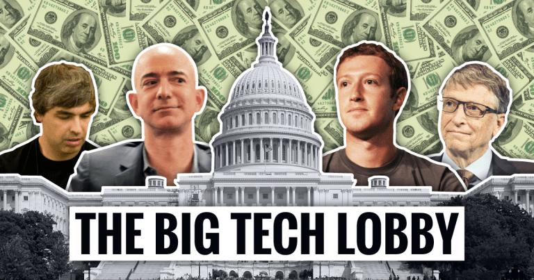 Amazon và Google chi tiền khủng để vận động hành lang các chính trị gia - 1