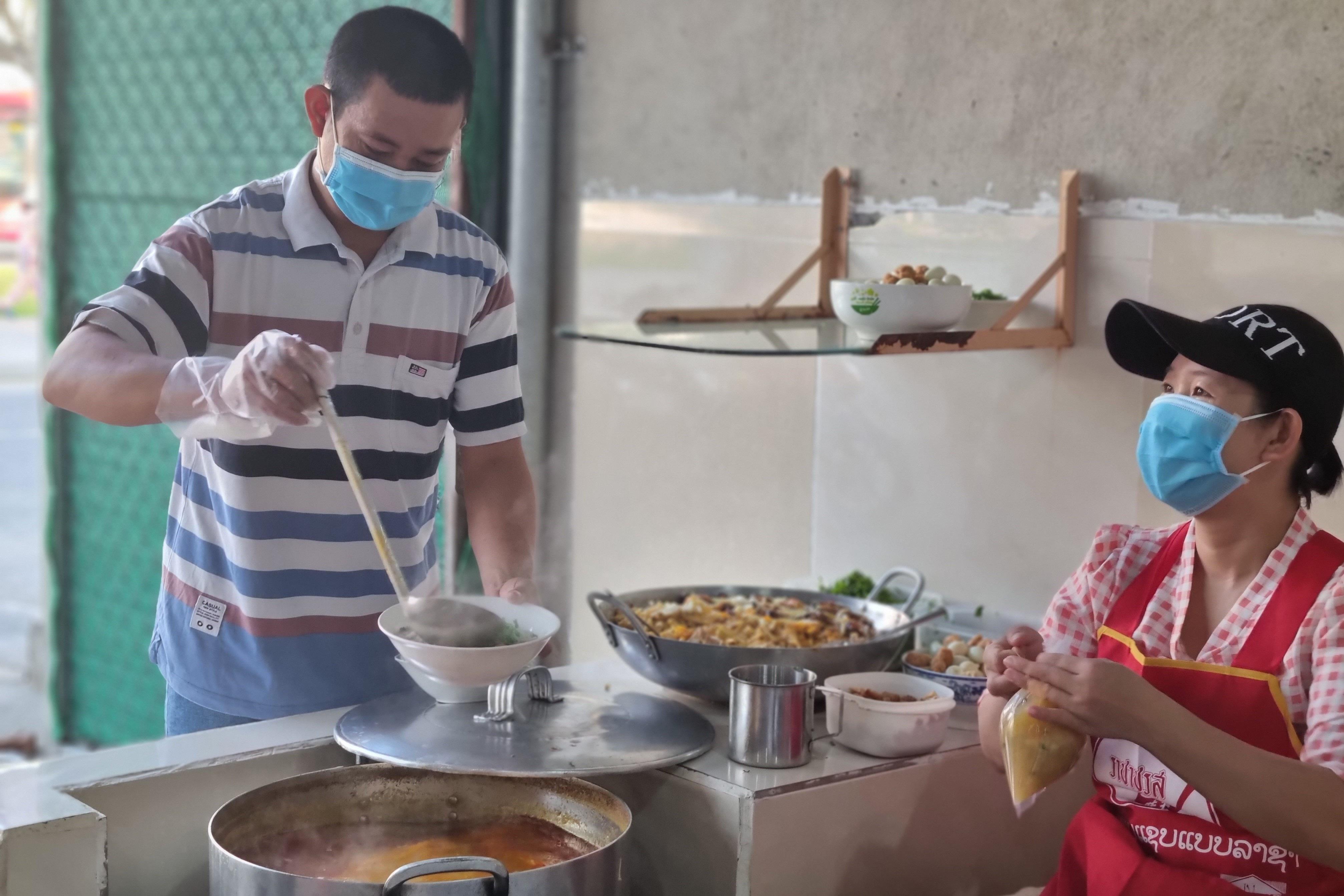 Quán bánh canh cá lóc vùng ven Đà Nẵng, mỗi sáng bán 350 tô - 2
