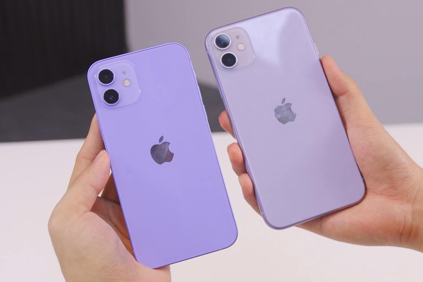 iPhone 12 và 12 Mini màu tím xuất hiện tại Việt Nam - 1