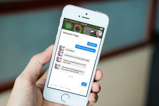 Đã có thể sử dụng bong bóng chat trên iPhone - 2
